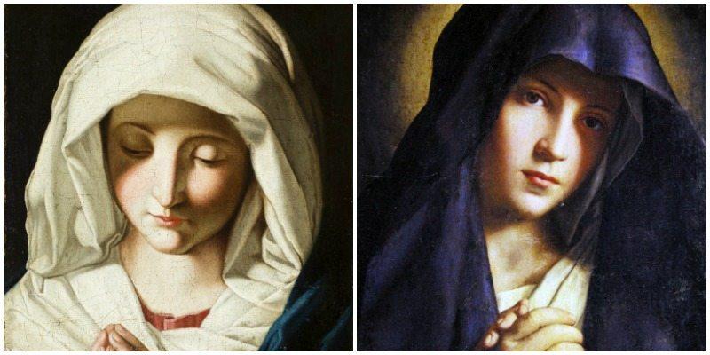 """2 Opere del """"Sassoferrato"""", Madonna orante e Madonna orante - Mostra la Devota Bellezza"""
