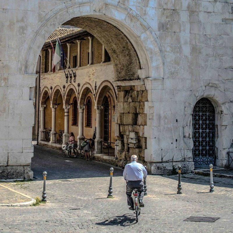 Arco d'Augusto di Fano - Foto di Valentina Gianfelici