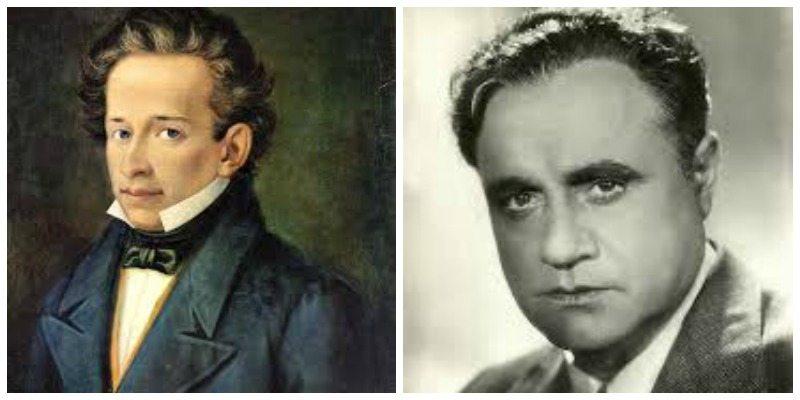 Giacomo Leopardi e Beniamino Gigli