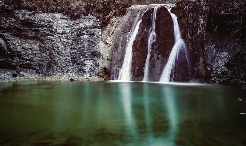 La Cascata della Gorgaccia (Foto @ Wilson Santinelli)