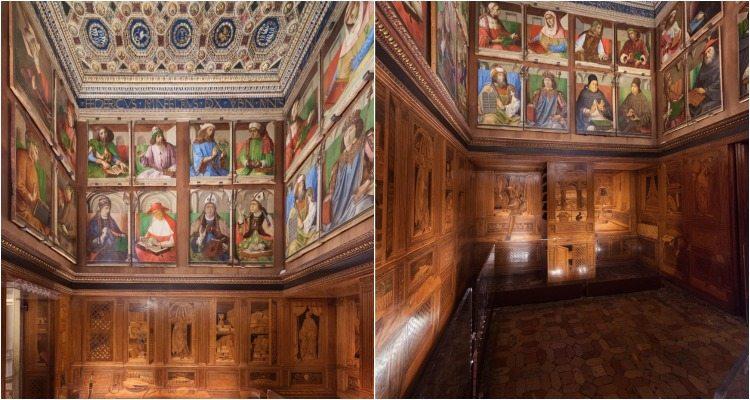Lo Studiolo di Federico da Montefeltro, Palazzo Ducale di Urbino
