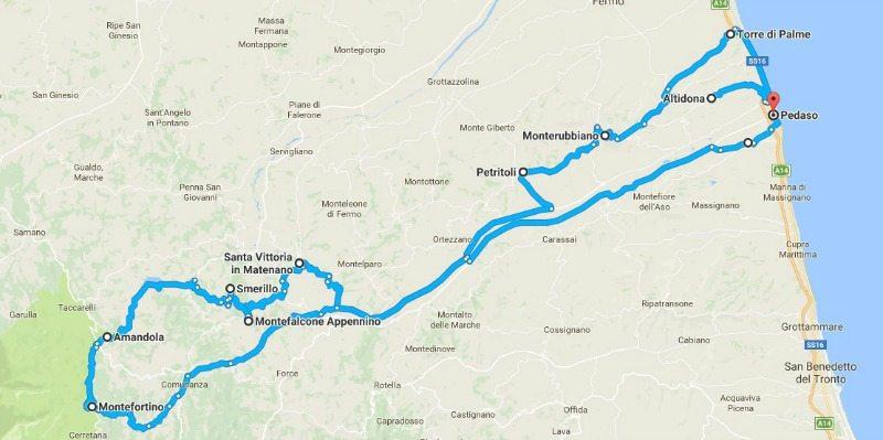 itinerario 2 fermano