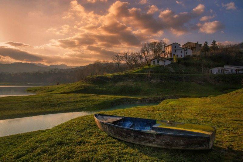 Lago di San Ruffino, Amandola, foto di Fabio Polimanti