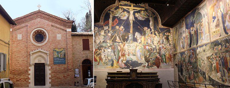 L'Oratorio di San Giovanni, a Ubrino