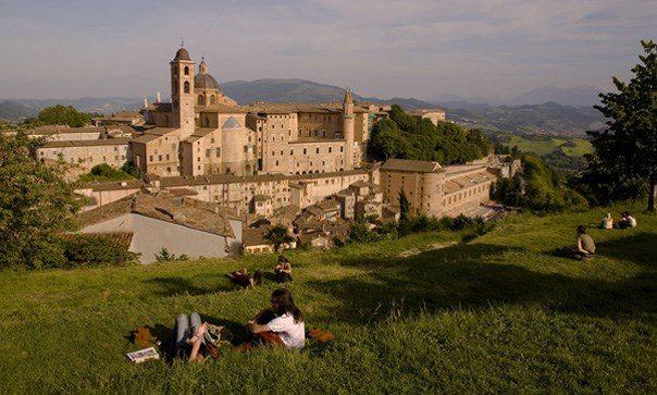 Vista di Urbino dalla Fortezza Albornoz