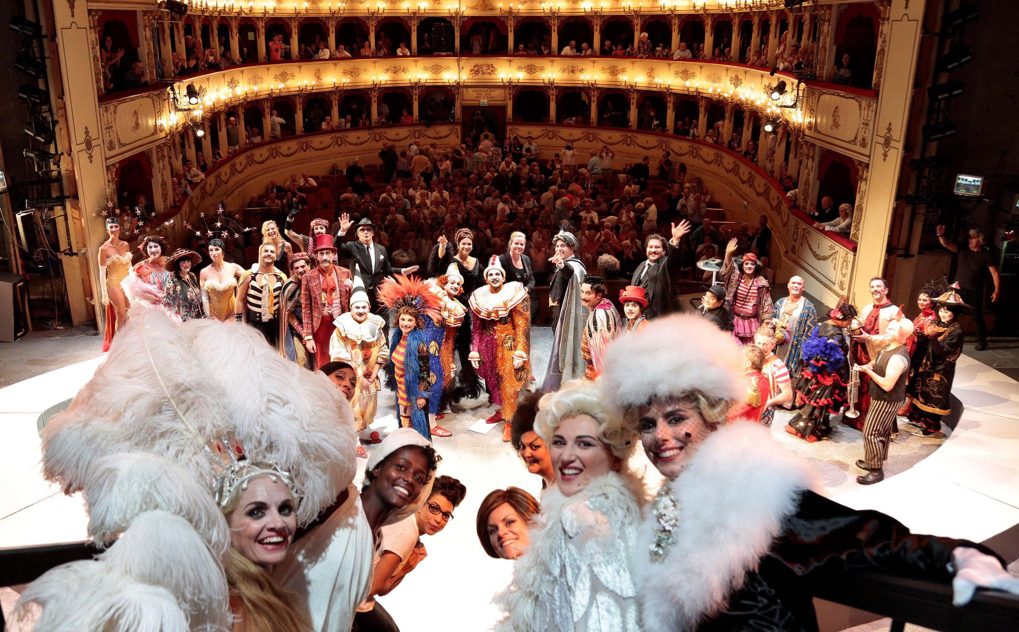 Teatri e Opera Lirica nelle Marche: Rossini Opera Festival a Pesaro