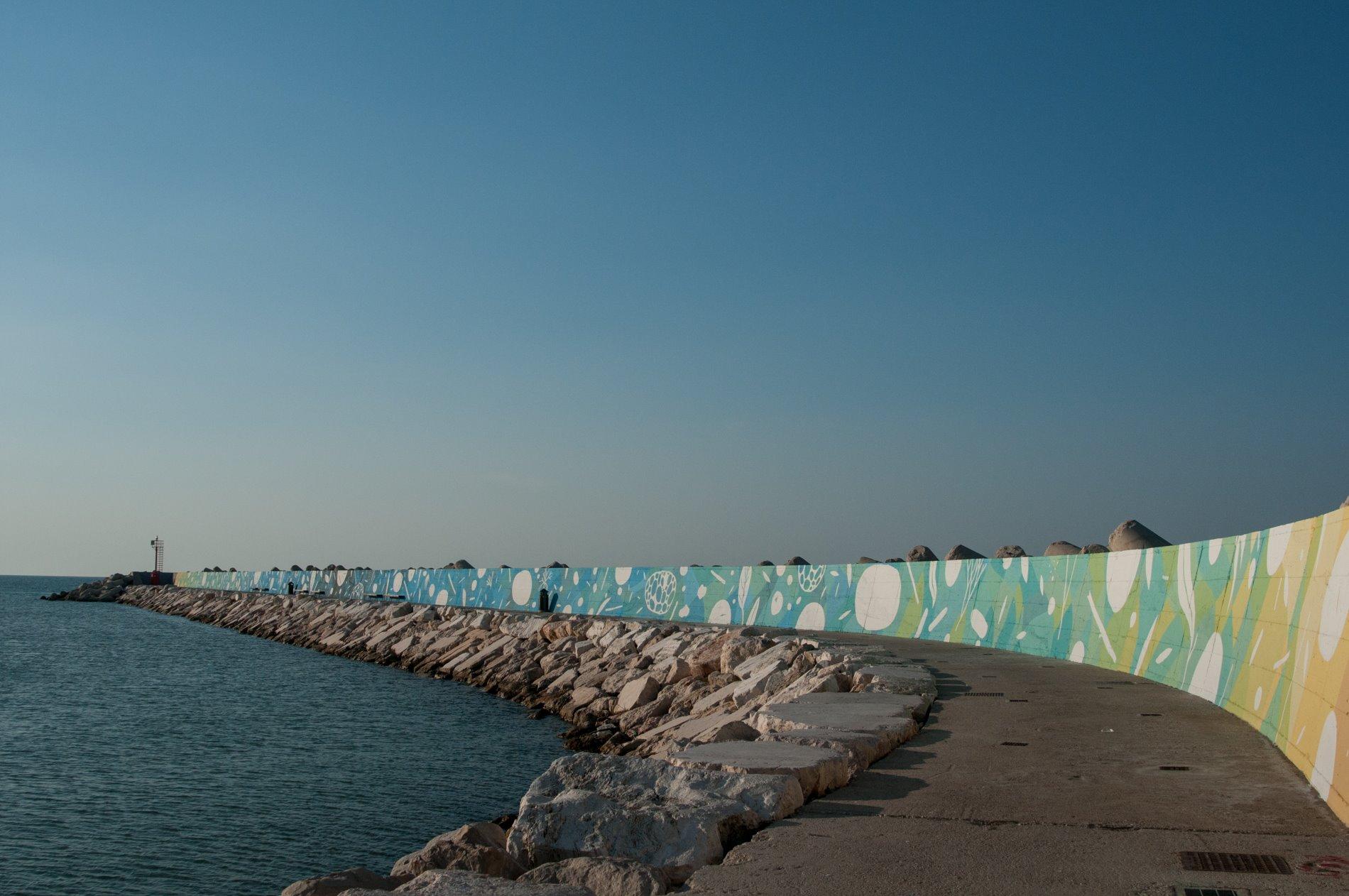 Tellas, Ciclico, Molo di Levante, Porto di Pesaro. Foto © Katia Boiani