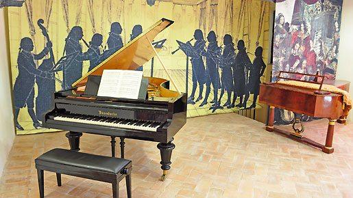 Il Museo del Piano e del Suono a Fabriano