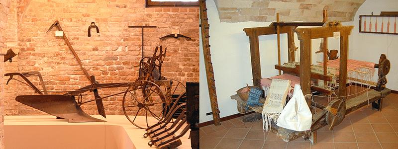 Il Museo delle Tradizioni Popolari (foto tratte dal sito www.turismoffida.com)