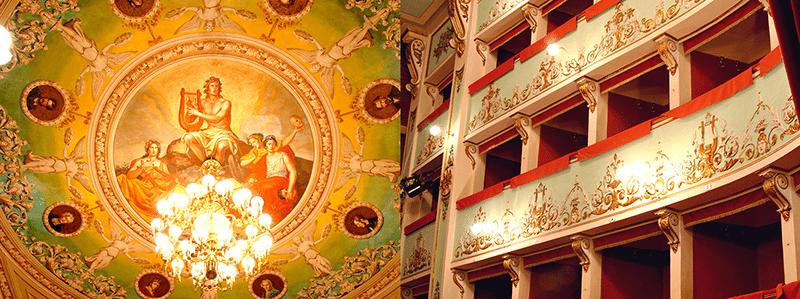 Il Teatro Serpente Aureo (foto www.turismoffida.com)