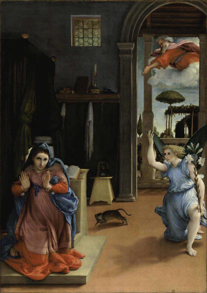 Annunciazione - Lorenzo Lotto - Recanati