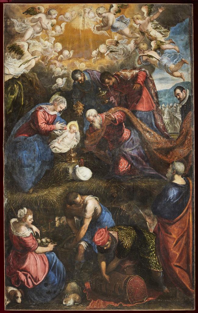 Natività - Jacopo e Domenico Tintoretto - Mostre nelle Marche