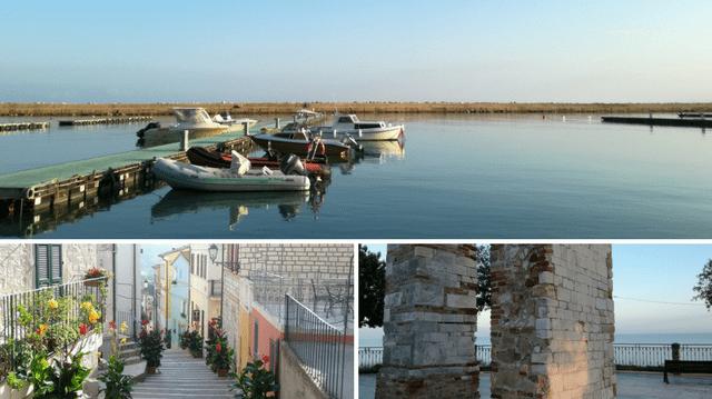 Numana: il porto turistico, la Costarella e la Torre