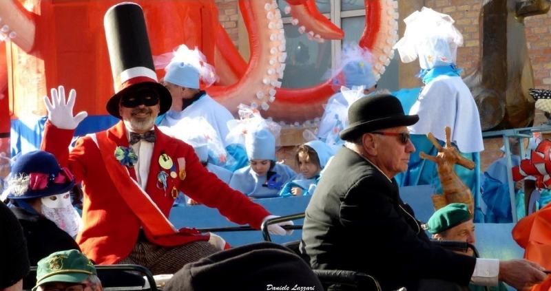 Rabachen e consorte al Carnevale di Pesaro