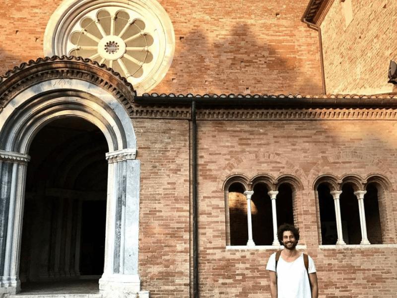 riparto dalle marche Simone riccioni abbazia chiaravalle fiastra