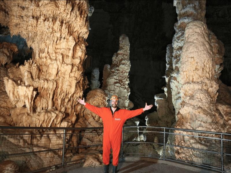 riparto dalle marche Simone riccioni grotte di frasassi