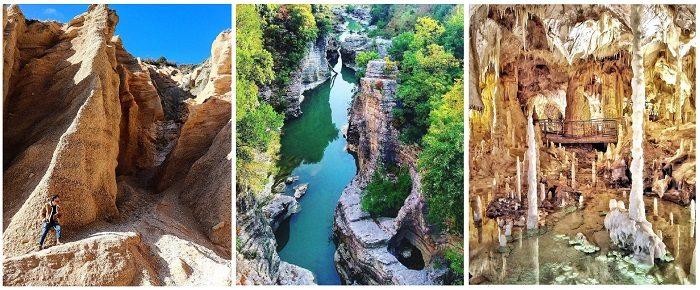 Lame-Rosse-Gola-del-Furlo-Grotte-di-Frasassi