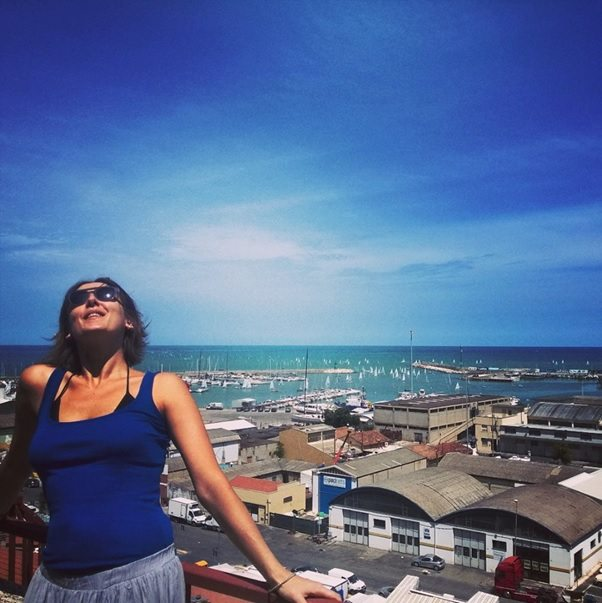 Simona Ciccalè - Raccontaci le Marche - Porto di Civitanova Marche