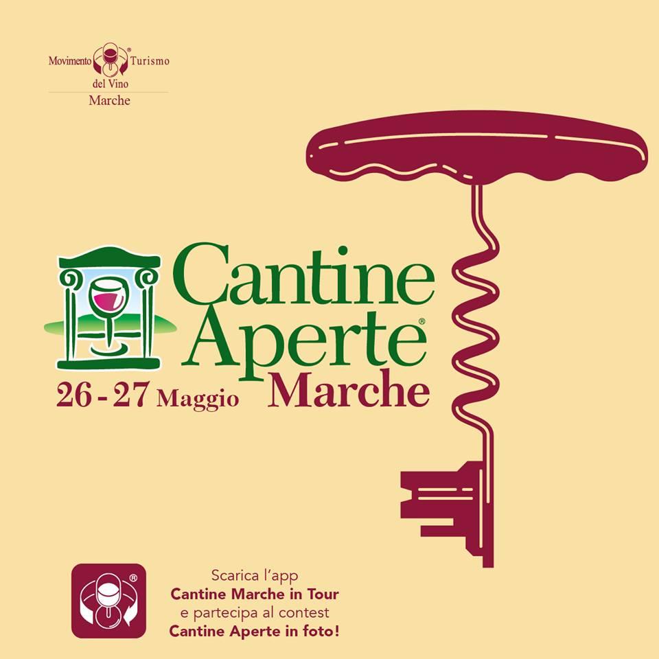Fra gli eventi di maggio nelle Marche: Cantine Aperte il 26 e 27 maggio