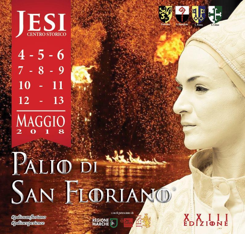 Eventi di maggio nelle Marche: il Palio di San Floriano a Jesi dal 4 al 13 maggio