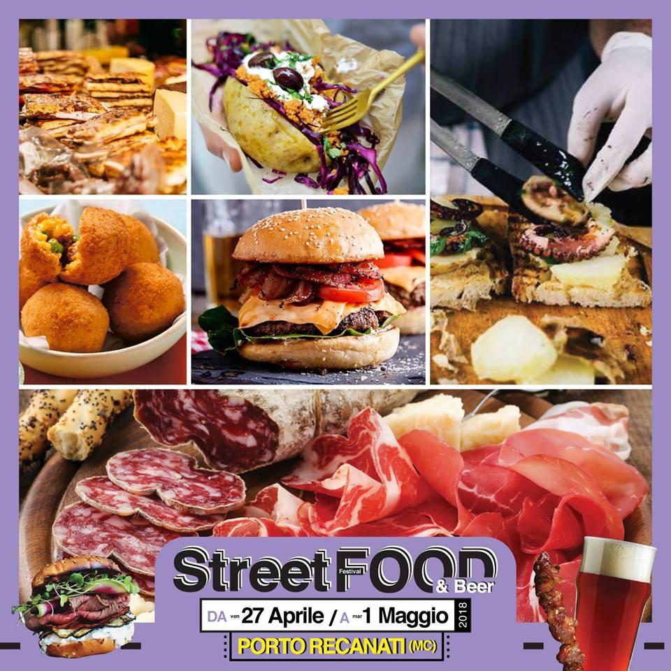 Street Food & Beer Festival dal 27 Aprile al 1 Maggio 2018 a Porto Recanati