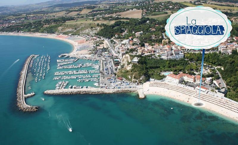 La Spiaggiola: visuale dall'alto