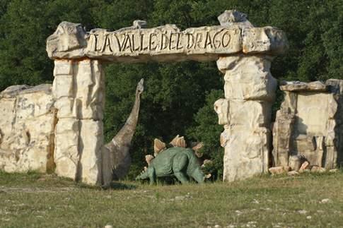 Matelica - Parco dei dinosauri – Le pietre del drago
