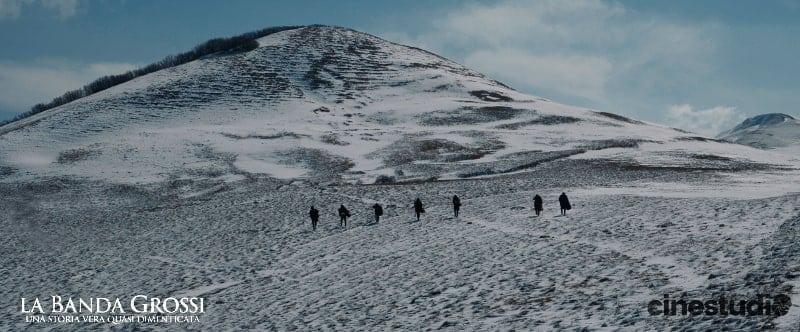 Scena del film La Banda Grossi al Monte Nerone