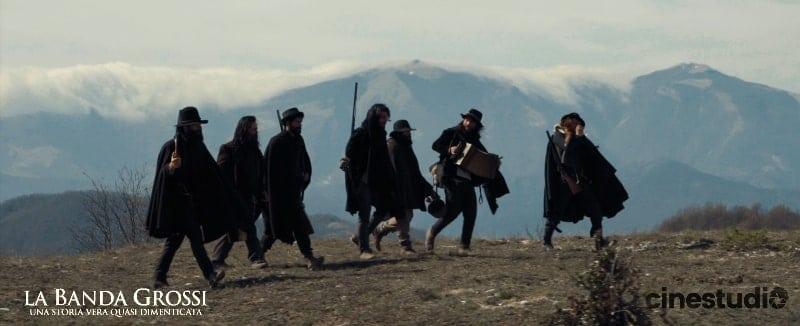 Scena del film La Banda Grossi al Monte Pietralata