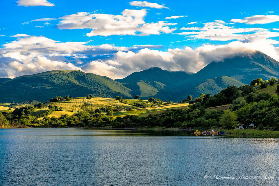 Lago di Cingoli. Marche