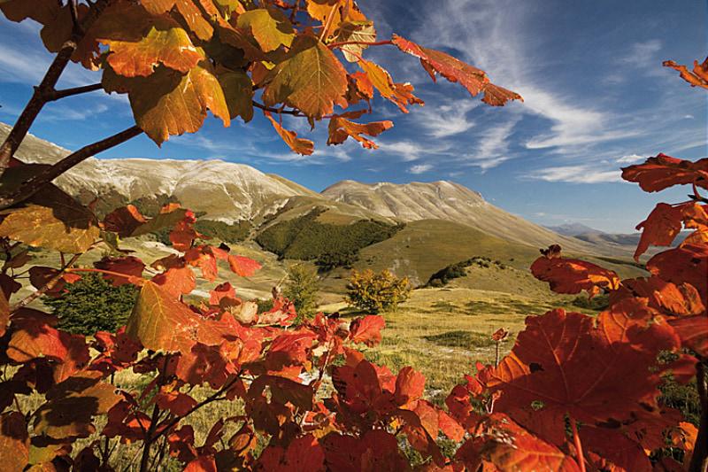 Monte Argentella e cima del Monte Redentore