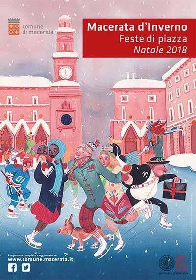 Locandina Natale 2018 a Macerata