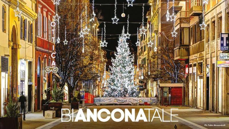 Corso Garibaldi a Natale - Ancona