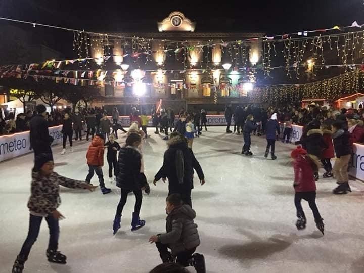 Pista di pattinaggio a Falconara