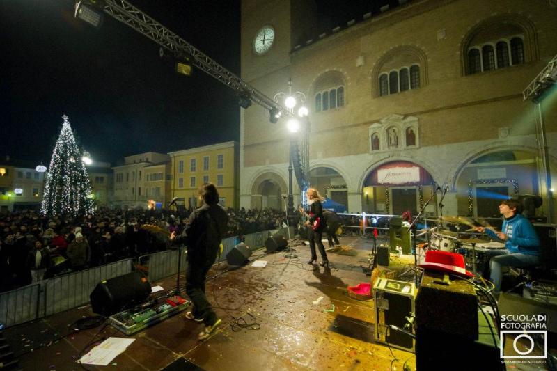 Capodanno in piazza XX settembre a Fano