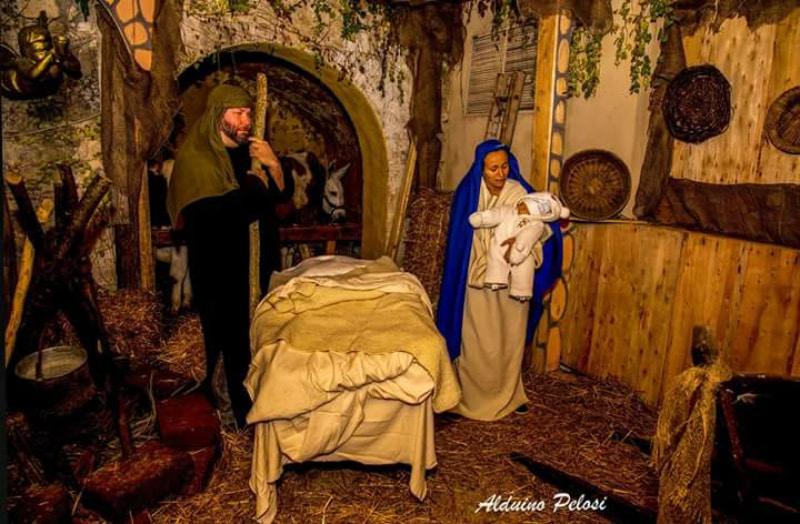 Natività al Presepe vivente di Grottammare