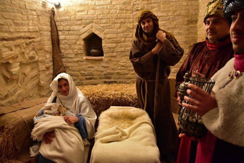 Natività Presepe vivente di Moie di Maiolati