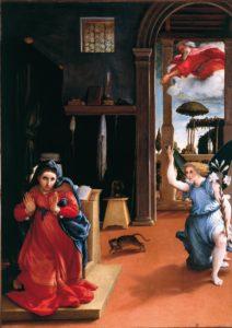 Annunciazione di Lorenzo Lotto Recanati