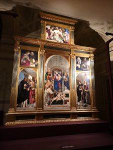 San Giacomo Pellegrino Lorenzo Lotto Recanati