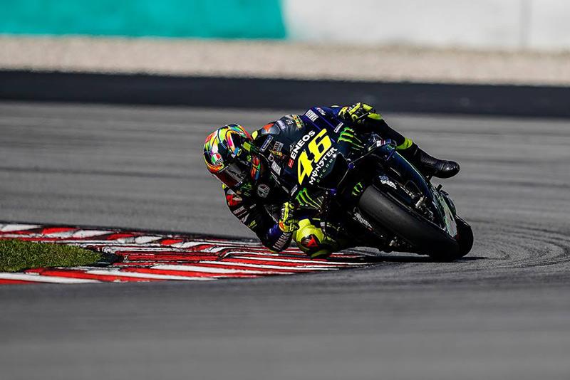 Vantino Rossi in gara