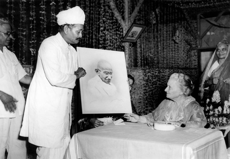 Maria Montessori in India