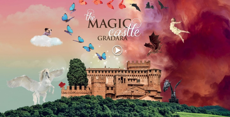 locandina evento Gradara Magic Castle