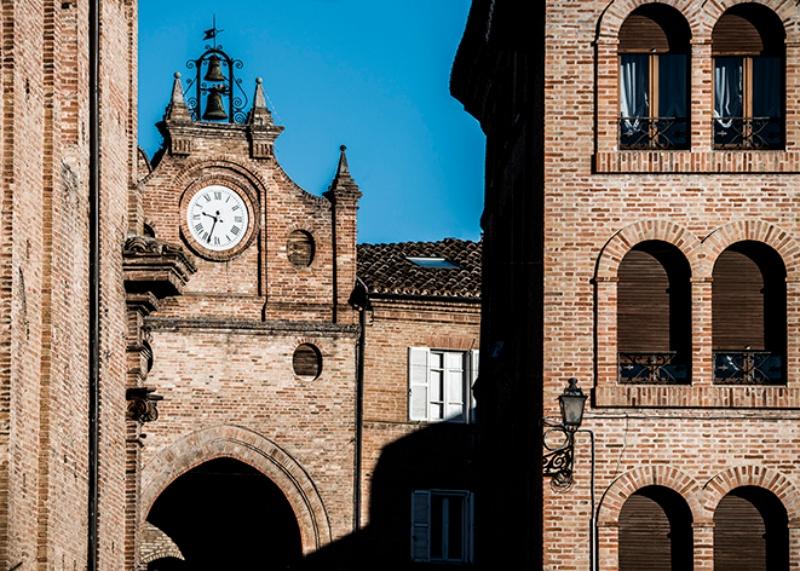 Scorcio di Porta San Giorgio ad Amandola