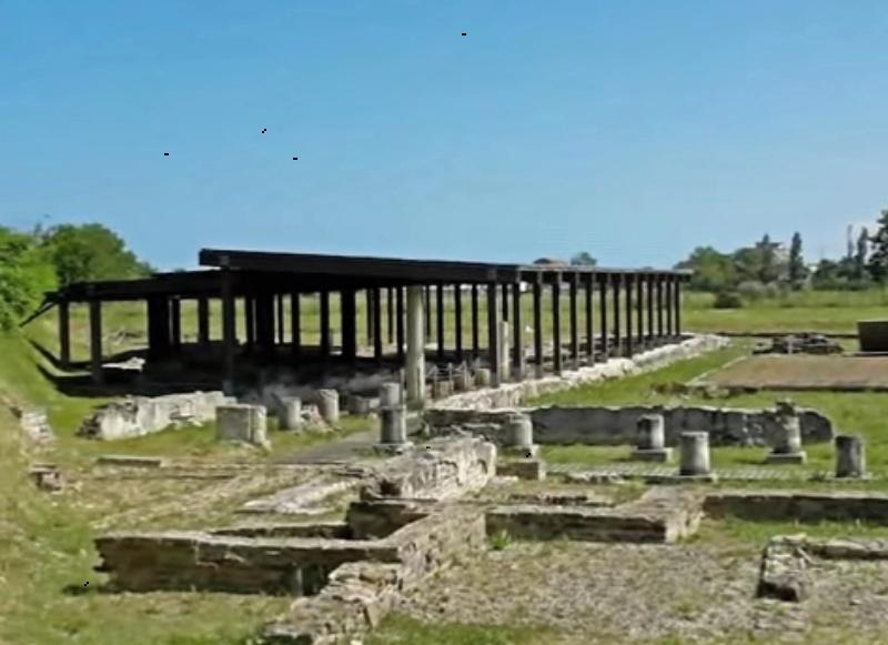 area archeologica di Potentia a Porto Recanati