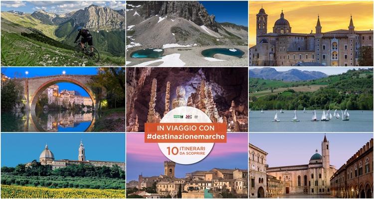 In viaggio con #destinazionemarche: 10 itinerari da scoprire - #destinazionemarche blog