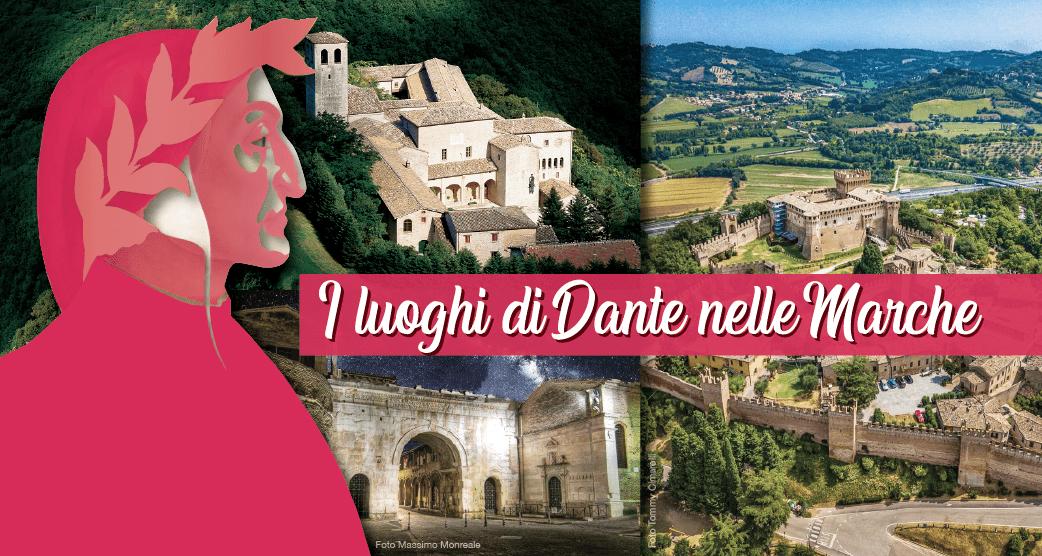 Dantedì 2021, i luoghi di Dante nelle Marche - #destinazionemarche blog